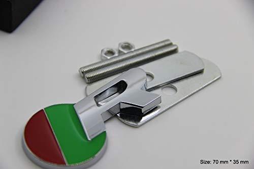 B273 R chrome emblem 3D front grille badge car sticker front grille auto