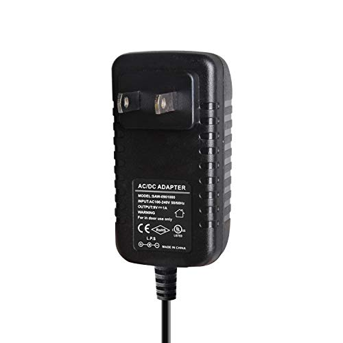 Donner DPA-1 Pedal Adaptador de fuente de alimentación 9V DC 1A Punta Negativa Cables de cadena tipo margarita de 5 vías para pedal de efecto