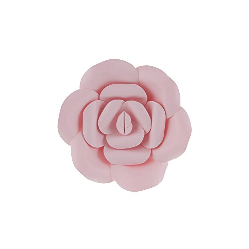 Mega Crafts 8'' Handmade Paper Flower in Pink | for Home Décor, Wedding Bouquets & Receptions, Event Flower Planning, Table Centerpieces, Backdrop Wall Decoration, Garlands & Parties]()