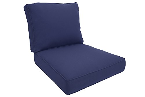 Easy Way Products Double Piped Sewn Closed Deep Seating Lounge, 26