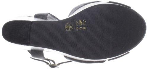 Chinese Laundry Join Me Pelle Sandalo con la Zeppa