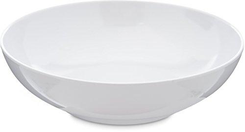 Carlisle 4381402 Epicure Soup / Salad Bowl, 20 Oz., White (Set of 12) ()
