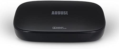 August DVB500 – Sintonizador TDT HD con Smart TV y Grabador PVR – Receptor de Televisión DVB-T y DVB-T2 con Play Store: Amazon.es: Electrónica
