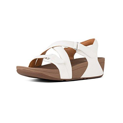 The Sandal Fitflop Para Pulsera Blanco Tm Mujer Con 194 Leather urban Sandalia Skinny White 1qFx6Fdw