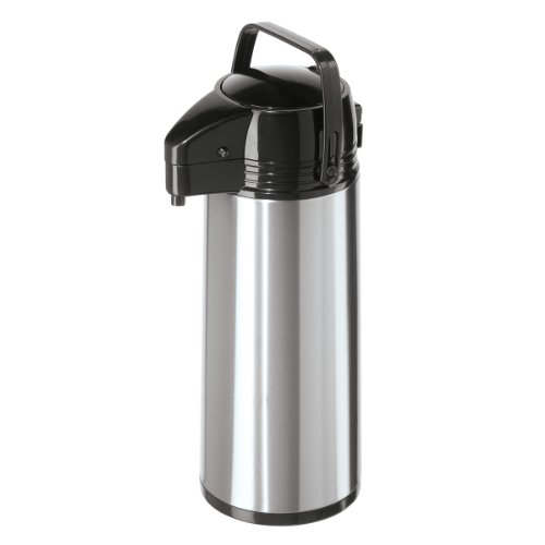 Oggi 9389.0 Stainless Steel Pump Master Carafe with Glass Liner