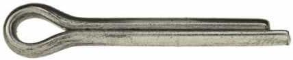 Reidl Splinte 6,3 x 40 mm DIN 94 A2 blank 10 St/ück