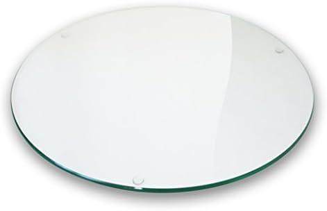 Moree Tablero de Cristal/Cristal Redondo, 50 cm de diámetro ...