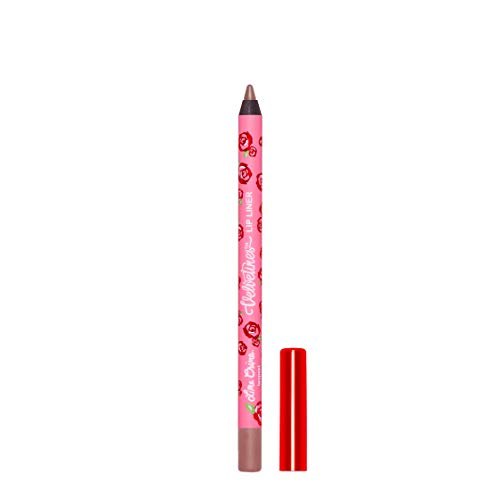 Lime Crime Velvetines Lip Liner (Taupest). Long Lasting Grey-ish Beige Matte Lip Lining Pencil (0.042oz / 1.20 g)