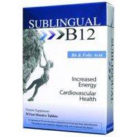 Heaven Sent Naturals Sublingual B12 W B6 - Naturals Vitamins Heaven Sent