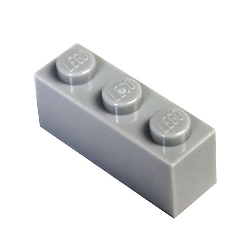 LEGO Parts and Pieces: Light Gray (Medium Stone Grey) 1x3 Brick ()