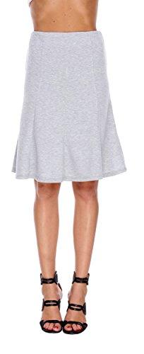 Brocade Tulip Skirt (Stanzino Women's A line Flared Skirt)