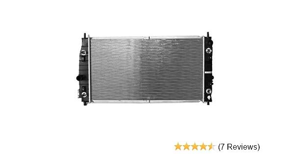 Amazon com: TYC 2184 Dodge/Chrysler 1-Row Plastic Aluminum