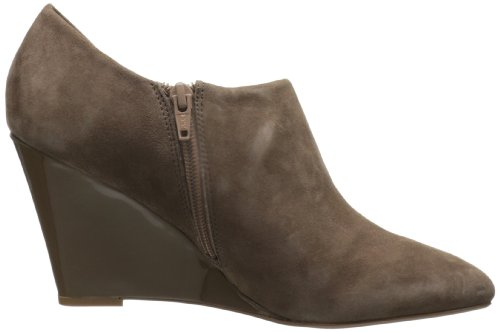 Corso Como Womens Model Ankle Boot Taupe Grey Kid Suede/Taupe Grey Patent 5SguIiwG