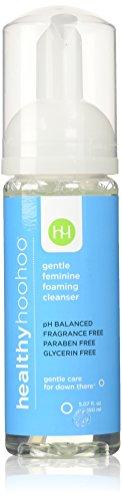 healthy hoohoo 5 fl. oz. All Natural Paraben and Fragrance-Free, Gentle Feminine Foaming Cleanser