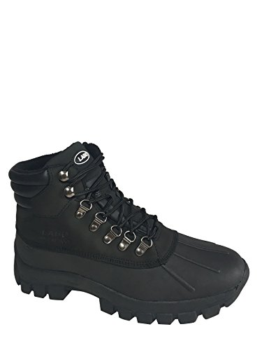 LABO Men's Winter Snow Boots Shoes Waterproof Insulated Lace UP (D,M) 602 BLACK-11 (Insulated For Boots compare prices)