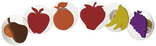 Center Enterprise CE6765 READY2LEARN Giant Fruit Stamps (Pack of 6)