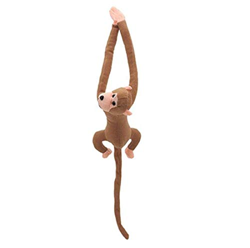 dhje-chen Long Arm Monkey from Arm to Tail Plush Toys Colorful Monkey Curtains Monkey Stuffed Animal Doll Curtain Decoration Mascot -