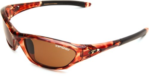 Tifosi Core Polarized Sunglasses - Tifosi Core 0200501050 Polarized Wrap Sunglasses,Tortoise Frame/Brown Lens,One Size