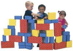 (Smart Monkey Toys 1040 40 piece Giant Building Block set )