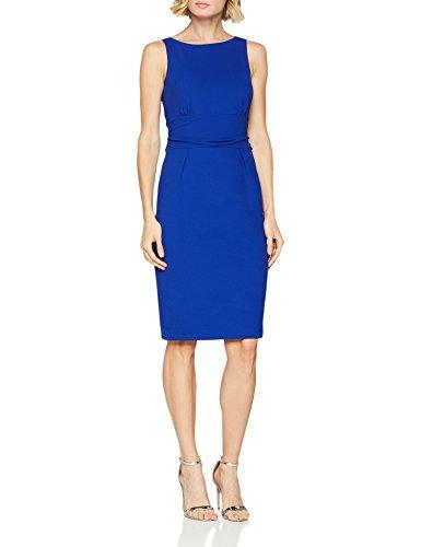 Blau Damen Blue Kleid comma Electric 5616 UzHvxO7qwq