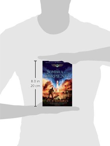 La sombra de la serpiente: Las crónicas de Kane, Libro 3 (Spanish Edition): Rick Riordan: 9780307951465: Amazon.com: Books