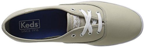 Keds Womens Champion Original Leather Sneaker Stone Leather J0APeuG