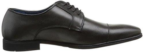 Casanova Lado - Zapatos de cordones de cuero para hombre gris gris 42 ml3feTVH