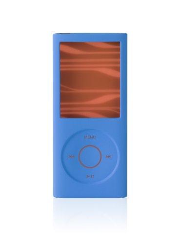 Belkin Silicone Sleeve Case for iPod nano 4G (Blue/Orange)