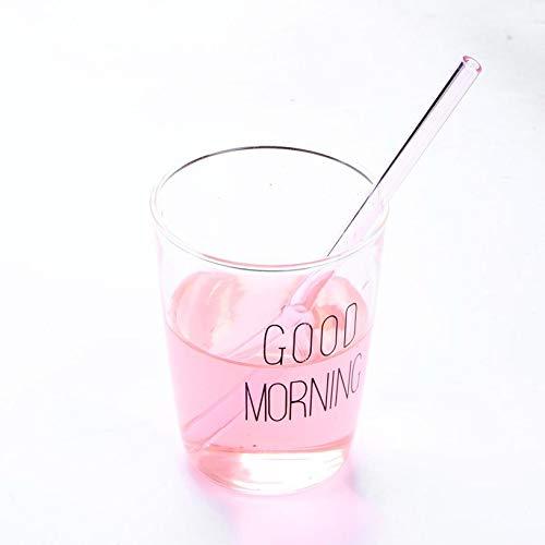 Reusable Wedding Birthday Party Drinking Straws Straight Pipe Handmade Healthy Glass Straw Household Glass Tube fghfhfgjdfj