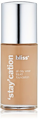 bliss Stay'cation Long Wear Liquid Foundation, Bronze, 1.1 fl. oz.