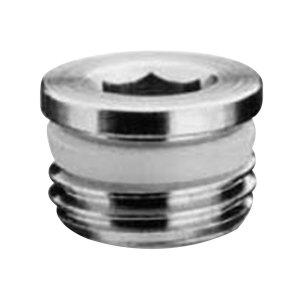 Camozzi Pro-Fit S2610 3//8 Plug Flush 0-580 psi NPT Brass 3//8