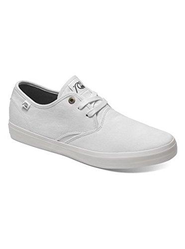 Quiksilver Men's Shorebreak Canvas Shoe, Black/Black/White, 9 M US
