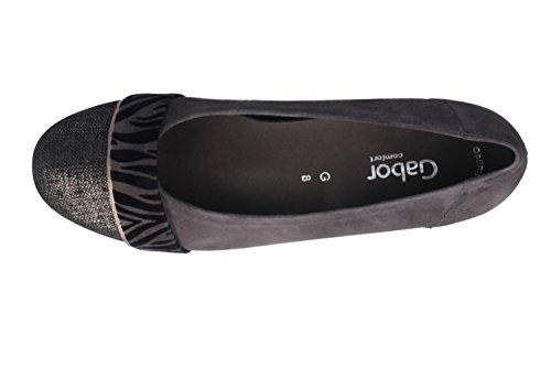 GABOR comfort - agujeros para mujer - gris en talla de calzado
