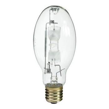 GE 43828 400W Multi Vapor MVR400/U M59/S R400 HID Metal Halide Light Bulb  2/PACK