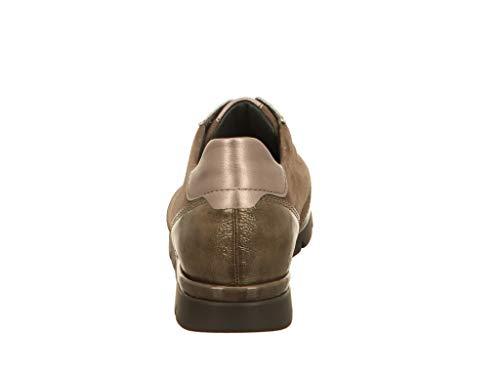Chaussures Lacets à Femme de Semler Beige pour Ville OfdqgwR