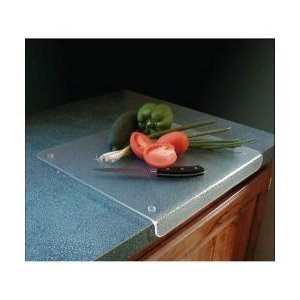 (Acrylic Plastic Products Cutting Board with Lip - 20 x 20 Inches)