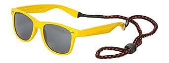 Classic Yellow Wayfarers with Dark Lens
