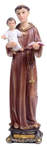 Woodington's Florentine Collection Saint Anthony of Padua 8 Inch Statue