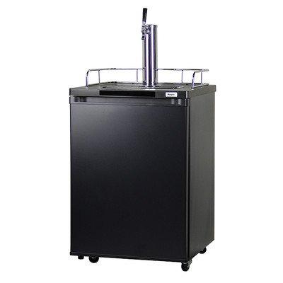 - Kegco Kegerator Beer Keg Refrigerator - Single Faucet - D System