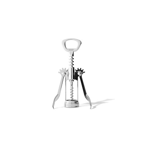 MAKO Stainless Steel Wing Corkscrew with Built-in Bottle Opener