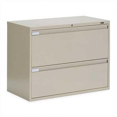 9300 Series 2-Drawer File Finish: Desert Putty