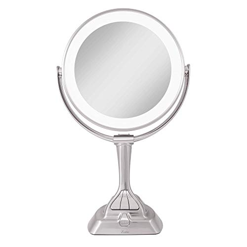 Zadro Led Light Dimmable Dual-sided Vanity Mirror, Satin -