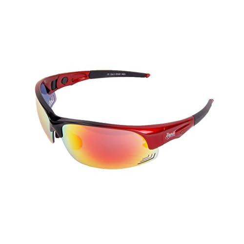 1404796c20 Gafas de Sol Polarizadas: 'Edge Red': Rojas. Con Cristales Intercambiales  Barato