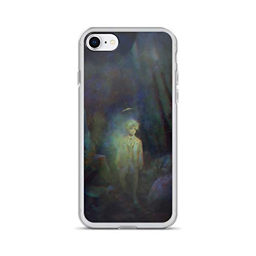 iPhone 7/8 Case Anti-Scratch Phantasy Imagination Transparent Cases Cover Apparition Fantasy Dream Crystal Clear