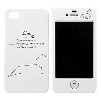 Carcasas Delantera Trasera integral blanca iPhone 4 con ...