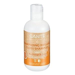 Santé – 2024shabri – Family – Hygiène Corporelle – Shampooing Brillance Orange et Coco Bio – 200 ml