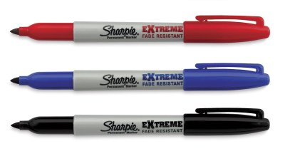 Sharpie Extreme Fade Resisted Markers Assorted (3 Count)