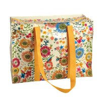 Blue Q Flower Field Shoulder Tote from Blue Q