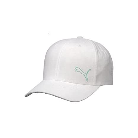 6949e400b8b ... uk puma womens tempo relaxed fit cap white blue 29dd7 ee645