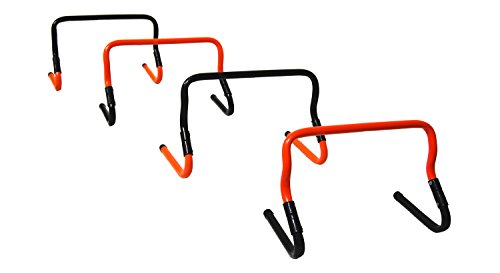 Trigon Sports Multi Height Agility Hurdles (Set of 4)